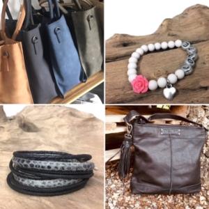 tassen en armbanden bij handmade by sjiek